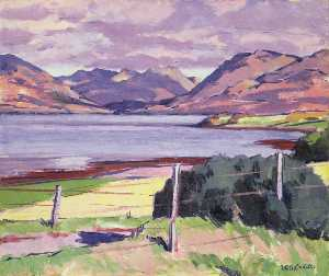 Francis Campbell Boileau Cadell - See Creran , Argyll