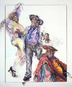 Maggi Hambling - george melly
