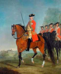 David Morier - generalmajor der herr sir charles howard , CB , Oberst von dem Regiment ( 1738–1748 )