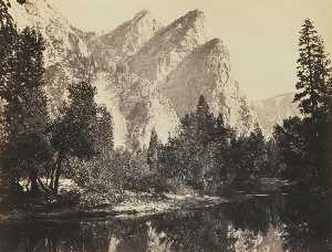 Carleton Emmons Watkins - 'THREE BROTHERS'