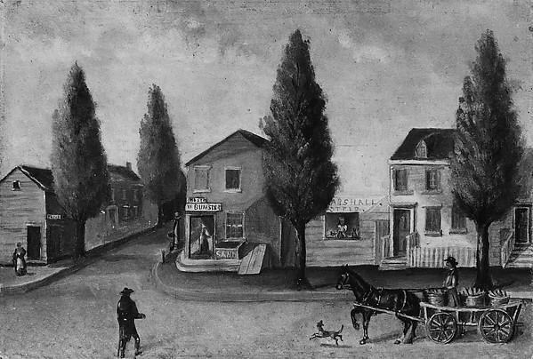 Der Baker's Wagen, Papier von William P Chappel (1800-1880)