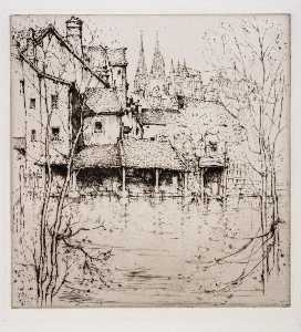 Ernest D Roth - Chartres