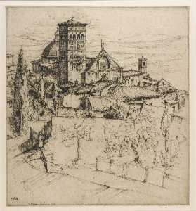 Ernest D Roth - san rufino , Assisi
