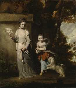 Joshua Reynolds - Die Ladies Amabel und Mary Jemima Yorke