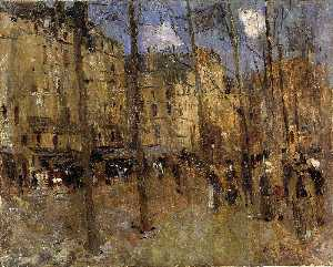 Frank Edwin Scott - Boulevard Str . Germain