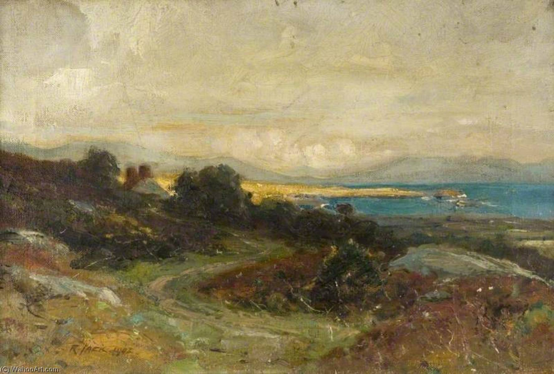 irish landschaft von Richard Jack (1866-1952, United Kingdom) | WahooArt.com