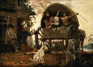 John Cranch - Der Carrier's Wagen