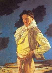 William Newenham Montague Orpen - der mann von aran