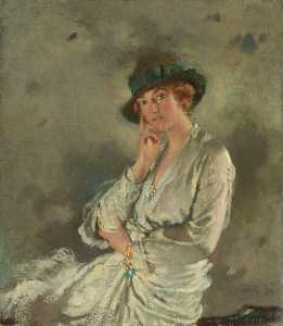 William Newenham Montague Orpen - Frau charles s carstairs