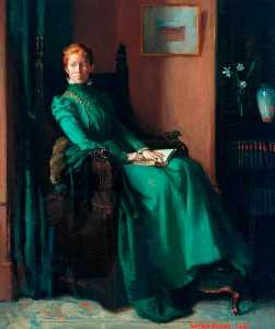 William Newenham Montague Orpen - Frau charles hughes