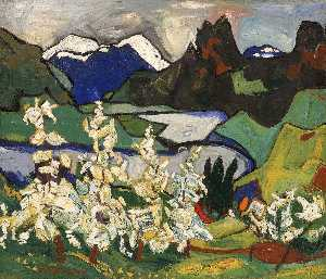 William Henry Johnson - apple-blüten- , Norheimsund , Hardanger