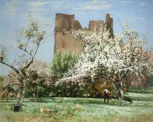 Robert Noble - ein alter schloss obstgarten , Longniddry