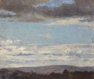 Thomas Stuart Smith - landschaft mit wolken