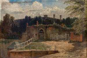 Henry Thomas Dawson - nottingham castle gateway