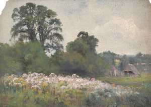 William Henry Hope - Wiesen nahe Oxted , Surrey