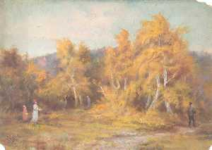 William Henry Hope - Herbst , croham hurst , Croydon , Surrey