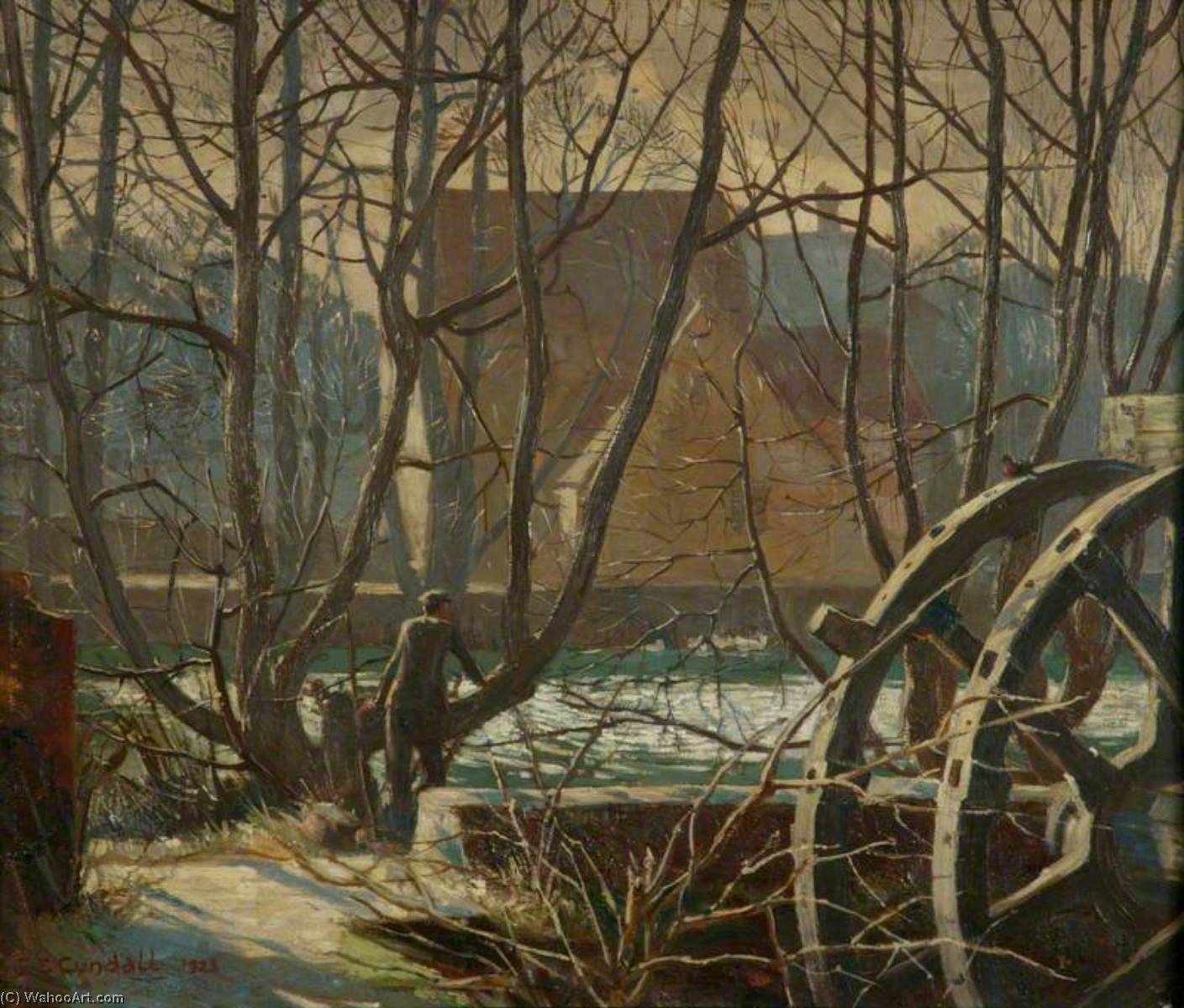 Temeside , Ludlow, 1923 von Charles Ernest Cundall | WahooArt.com