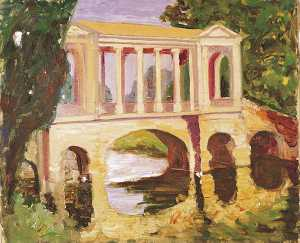 Winston Spencer Churchill - Die Palladio-Brücke bei Wilton House