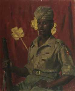 Henry Marvell Carr - Sepoyen Kamal Ramme ( 1924–1982 ) , VC , 8th Pandschab Regiment