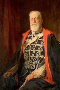 Samuel Henry William Llewellyn - sir reginald Kühn ( 1848–1938 ) , 2nd Bt , von dunstall Park entfernt