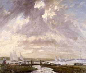 Samuel Henry William Llewellyn - segeln am blakeney