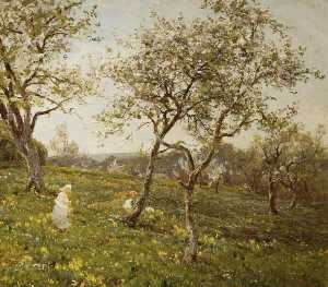 James Aumonier - die orchard