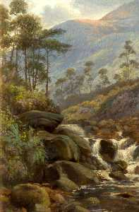 George Henry Wimpenny - Kaue Tal , Greenfield , Lancashire