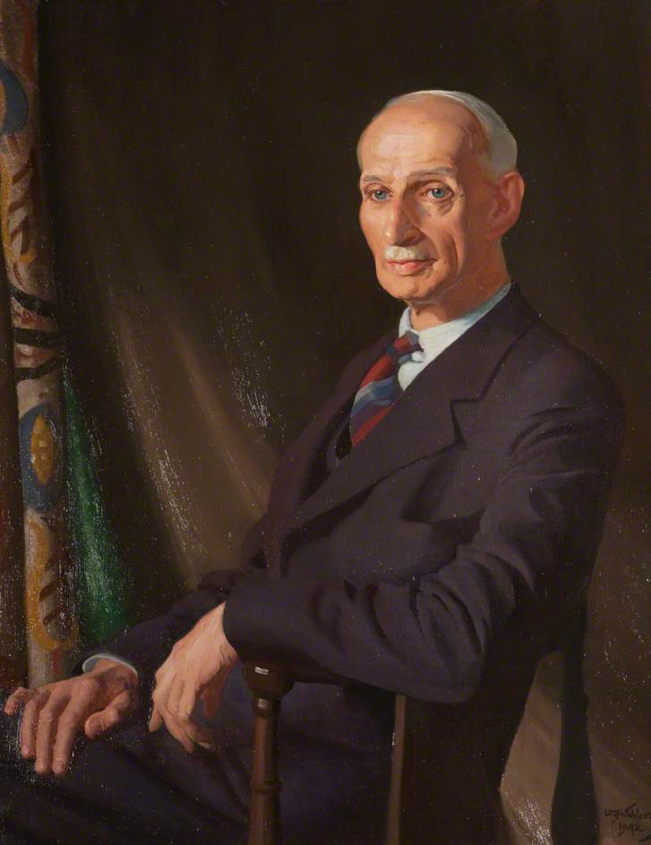 sir alexander macgregor ( 1881–1965 ), öl auf leinwand von William Oliphant Hutchison