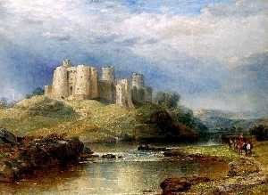 David Cox The Elder - Kidwelly Schloss