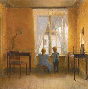 Peder Ilsted - Am Fenster