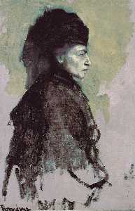 Romaine Brooks - Freifrau de Deuil