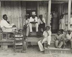 Benjamin Shahn - Sharecropper's Kinder , Arkansas