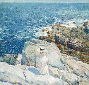 Frederick Childe Hassam - die south ledges , Appledore