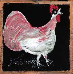 Jimmy Lee Sudduth - ohne titel Huhn