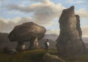 Richard Tongue - Schafe Tor , Dartmoor