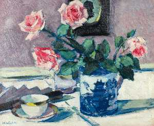 Francis Campbell Boileau Cadell - rosa rosen