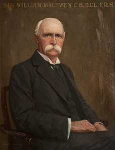 Charles R Dowell - sir william macewen ( 1848–1924 ) , CB , DCL , FRS