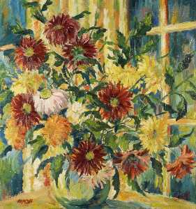 Margaret Oliver Brown - chrysanthemen