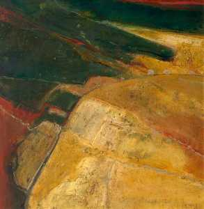 Alison Mcgill - Golden Landschaft