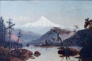 William Samuel Parrott - mount kapuze Gemälde