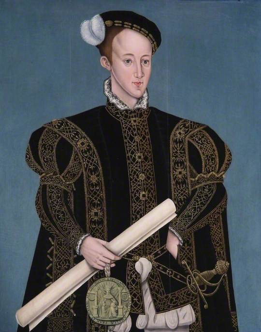 edward vi ( 1537–1553 ), 1607 von Sampson Strong | WahooArt.com