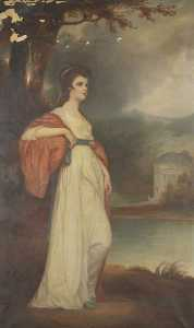 William George Tennick - isabella curwen ( nach george Romney )