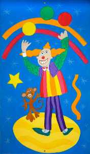 Wendy Lewis - Children-s panel jonglieren clown