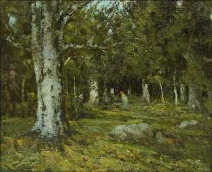 Ion Andreescu - wald inneres
