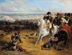 Hippolyte Bellangé - Napoleon in wagram