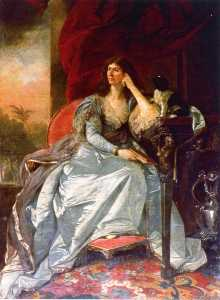 Johann Zoffany - marian hastings