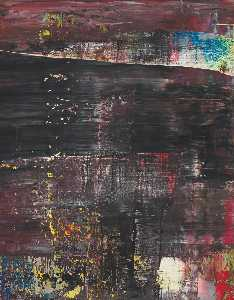 Gerhard Richter - abstraktes bild , 21 . November . 43 ( 715 5 )