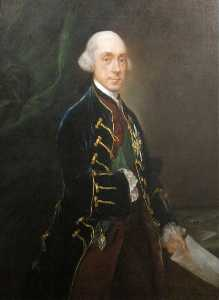 Thomas Gainsborough - Franziskus Greville , 1st Graf von Warwick