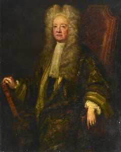 William Gandy - sir henry langford ( d . 1725 ) , Bt