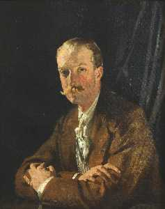 William Newenham Montague Orpen - Geoffrey , Vierte Marquis von headfort